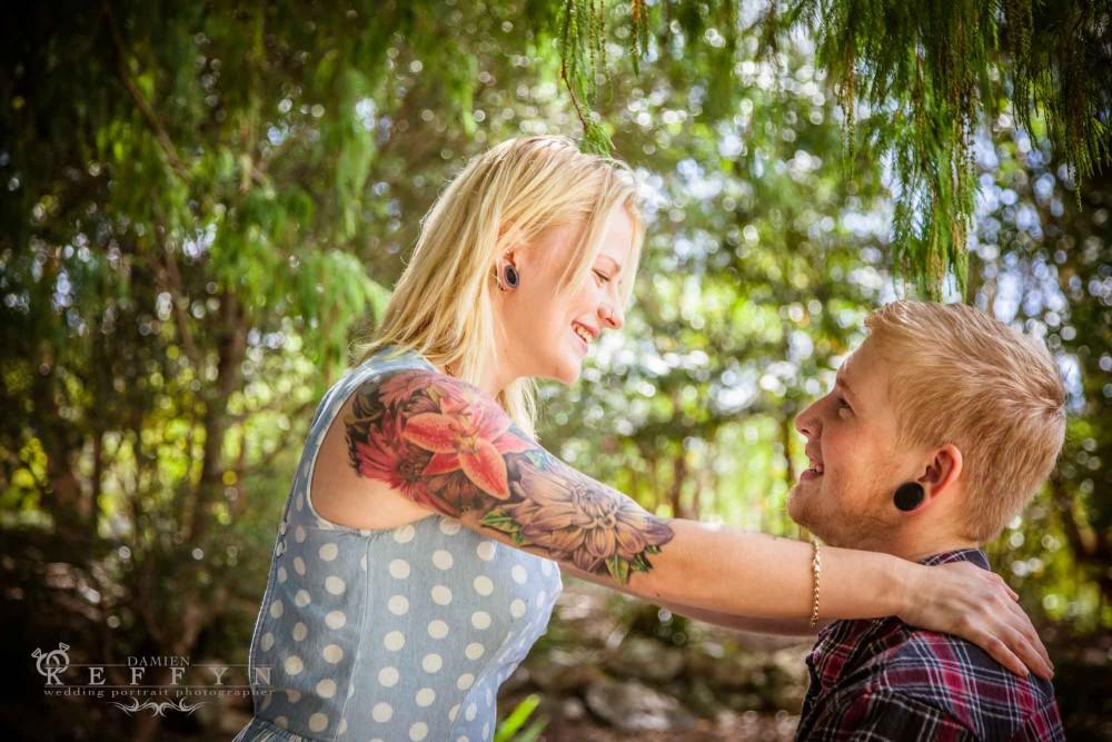 Frankie Kim Garden Engagement Sunshine Coast Queensland, Australian Photographer, Engagement Photographer, Garden Portrait Photographer, Queensland Photographer