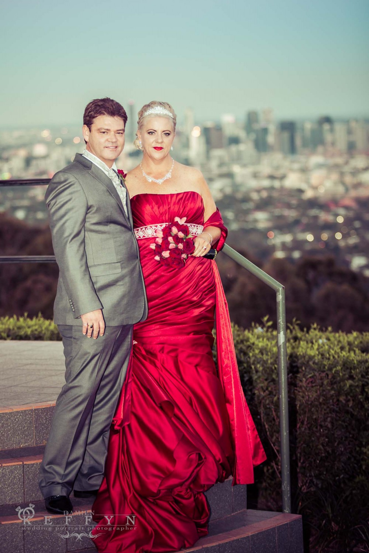 Yvette Steve Mountain lookout Wedding Mount Cootha, Brisbane Wedding Photographer, Mount Cootha Wedding Photographer, Brisbane, Queensland, Australia