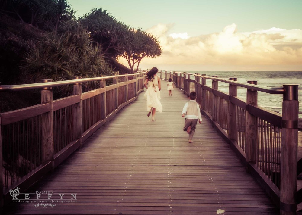Angela Brad Boardwalk Park Wedding Happy Valley, Sunshine Coast Wedding Portrait Photographer, Caloundra Photographer, Sunshine Coast Photographer