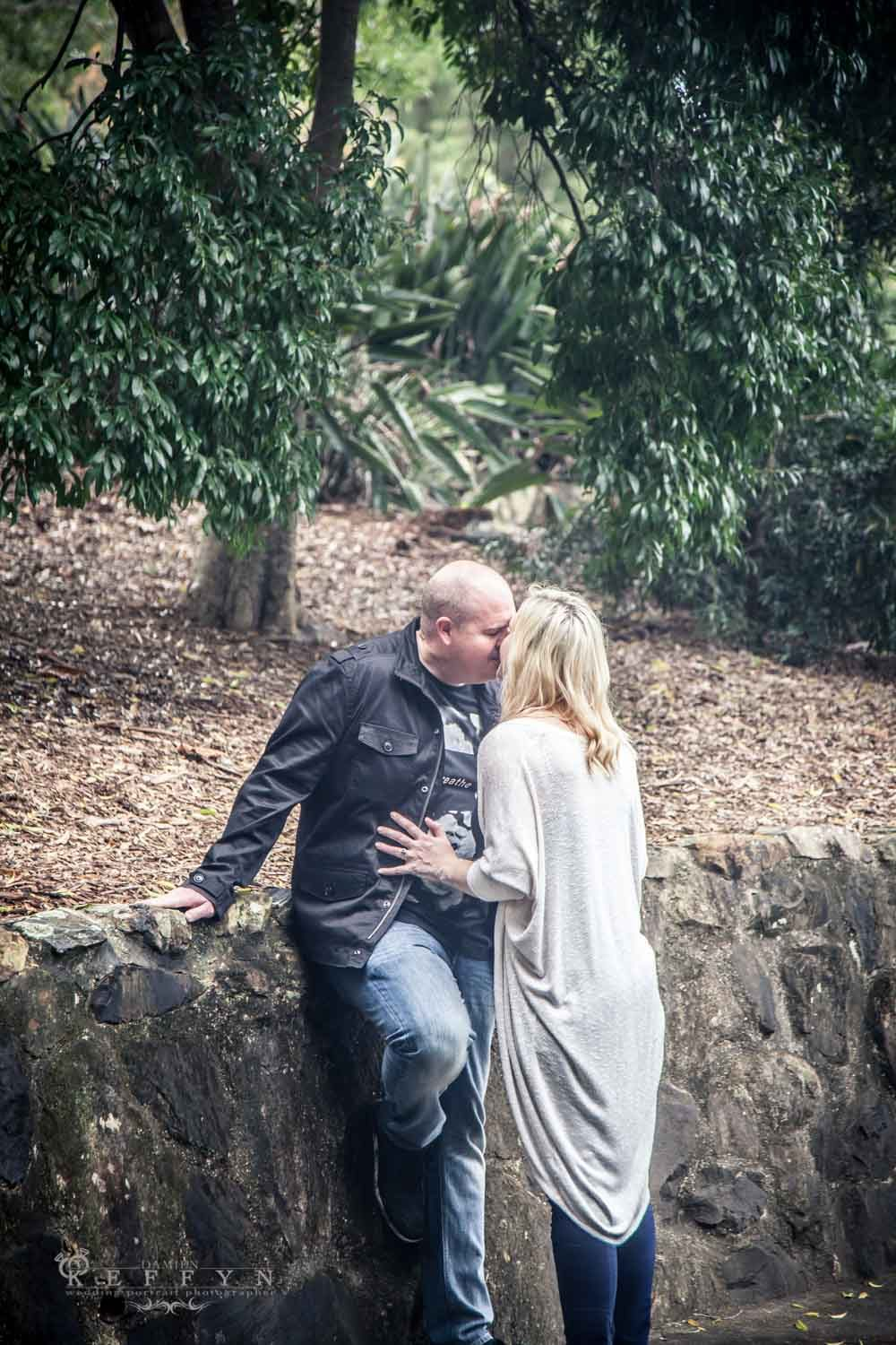 Engagement photography Botanical Gardens Australia, Sunshine Coast, Gold Coast, Brisbane, Wedding Portrait Maternity Family Photographer Damien Keffyn AIPP