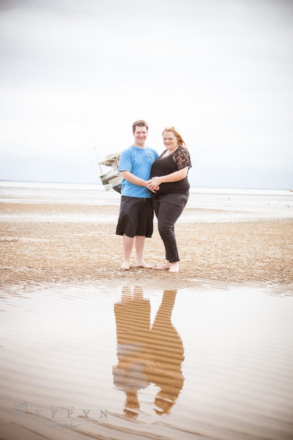 Belinda Beachside Maternity Portraits Scarborough, Scarborough Maternity Photographer, Brisbane Maternity Photographer,Brisbane, Gold Coast, Queensland